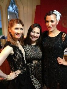 Phoenix Renata with Ria Hall  With Strings Attached - TVNZ.   NZ Orchestra with Op Shop.   Makeup By Phoenix.