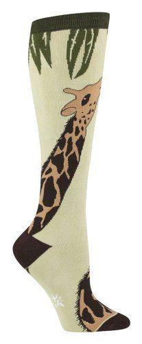 Giraffe Womens Knee Socks, Light Green one size fits most Sock It To Me http://www.amazon.com/dp/B005F9ER1E/ref=cm_sw_r_pi_dp_oYn2vb1KWJJYC