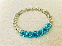 How to make beaded bracelet – YouT… - new season bijouterie Bracelets Diy, Making Bracelets With Beads, Beaded Bracelets Tutorial, Handmade Bracelets, Jewelry Making, Colorful Bracelets, Silver Bangles, Sterling Silver Jewelry, Silver Ring