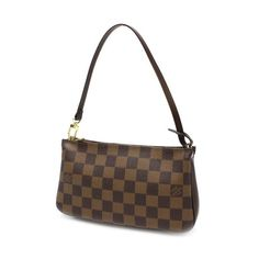 Louis Vuitton Navona Damier Ebene Small bags Brown Canvas N51983