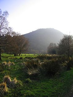 Glendalough, Ireland - in the wicklow mountains.