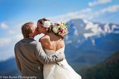 He'll never let her go... <3 Alpenglow Stube, Keystone Resort, CO www.keystoneweddings.com | Photo By: Van Buren Photography @Katie Van Buren