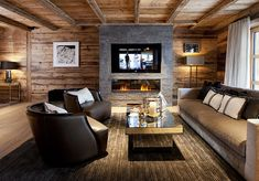 Six-star Chalet N Ski Chalet, Conference Room, Patio, Outdoor Decor, Table, Design, Furniture, Home Decor, Chalets