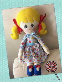 Boneca Nina, by Ateliê Sapeka