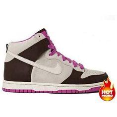 fcc3ea928d04 Womens Nike Dunk High White Sail Light Chocolate Pinkfire Nike Dunks