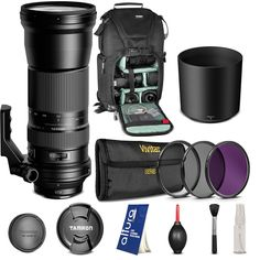 Tamron AFA011C700 SP 150-600mm f/5-6.3 Di VC USD Zoom Lens for CANON DSLR Cameras + BACKPACK & FREE ACCESSORIES