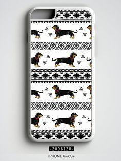 Dachshund iPhone 6 Case Wiener Dog iPhone 5s Case by zoobizu