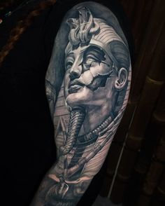 Search inspiration for a Realistic tattoo. Zeus Tattoo, Anubis Tattoo, Dark Tattoo, Grey Tattoo, Cool Tattoos Pictures, Picture Tattoos, God Tattoos, Body Art Tattoos, Unique Tattoos