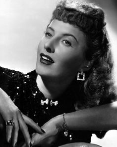"""The photo """"Barbara Stanwyck"""" has been viewed times. Barbara Stanwyck, Hooray For Hollywood, Image 30, Hollywood Actresses, Classic Hollywood, Beautiful People, Actors, Film, Lady"""