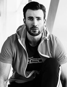 FILA photo shoot Chris Evans