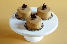 kávové dortíky - My site Mini Tortillas, Sweet Desserts, Cheesecakes, Food And Drink, Blackberries, Autumn, Food Cakes, Sweets, Fiestas
