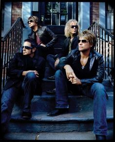 Bon Jovi - been listening to them since I was in elementary school and still love them