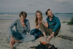 Beach fire at East Head. Adventures with Gnarly Tree Clothing, Chichester.