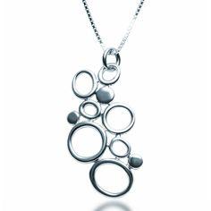 Silver Bubbles Necklace   Zaffre Silver Jewellery   Australia