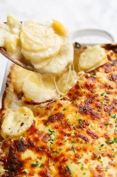 Scalloped Potatoes | cafedelites.com