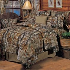 Realtree All Purpose 4 Piece Comforter Set