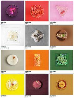 """.Après """"Humanae – le Nuancier Pantone Humain"""" et les """"Tartines Pantone pour le petit déjeuner"""", voici """"Pantone Food"""", un projet de la photographe / directrice artistique Alison Anselot qui s'amuse à associer des plats à leur couleur Pantone dans de jolies photographies culinaires"""
