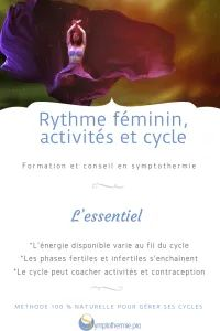 Rythme féminin, activités et cycle - Symptothermie.pro Libido, Family Planning, Effects Of Stress