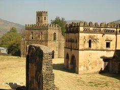 Fasil Ghebi - Región de Gondar Etiopía.