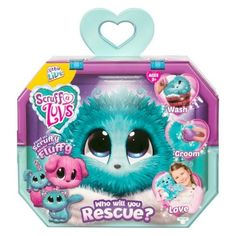 Show a little tender loving care to the unloved and abandoned pet in this Little Live Pets Scruff-A-Luvs Single Pack. The mystery animal inside can be an adorable puppy, kitten, or bunny, just waiting to be loved and pampered by your little one. Little Live Pets, Little Kittens, Little Girl Toys, Moose Toys, Adoption Certificate, Pet Style, Pets For Sale, Fluffy Animals, Fluffy Pets