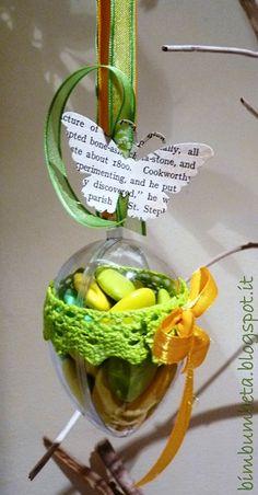 Uova di Pasqua... ripiene di dolcezze * easter eggs ... filled with sweetness {tutorial bimbumbeta}