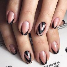 French nail art, french tips, colorful french manicure, fun french manicure Ongles Gel French, French Manicure Short Nails, French Manicure Designs, French Nail Art, Nail Art Designs, Colorful French Manicure, French Manicures, Hair And Nails, My Nails
