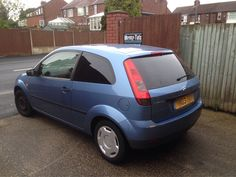 2003 Ford Fiesta in at 6pm this evening for 5% carbon privacy tint.