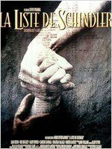 La Liste de Schindler est un drame historique américain réalisé par Spielberg, sorti le 30 Novembre 1993, et inspiré du roman éponyme La Liste de Schindler de Thomas Keneally sur Oskar Schindler, qui réussit à sauver environ 1 100 Juifs promis à la mort dans le camp de concentration de Płaszów, sans pour autant occulter les travers du personnage un peu ambigu et cherchant à tirer un profit matériel de la situation. (from Wikipedia http://fr.wikipedia.org/wiki/La_Liste_de_Schindler_%28film%29…