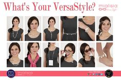 Our Mialisia jewelry is really an extension of who you are. It expresses your mood, attitude and personality. Our interchangeable jewelry converts into dozens of different looks and styles to provide convenient options and incredible value to today's busy woman.  #mialisia #VersaStyle #ygyclub