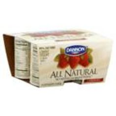 I'm learning all about Dannon Yogurt All Natural Lowfat Strawberry at @Influenster!
