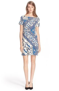 Tory Burch Print Short Sleeve Dress available at #Nordstrom