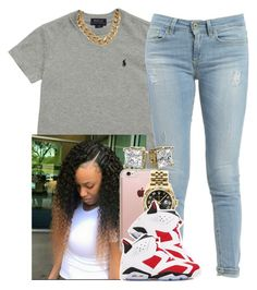 """Movies/Mall-Me"" by saucinonyou999 ❤ liked on Polyvore featuring Ralph Lauren, Dondup, Incase, Rolex and NIKE"