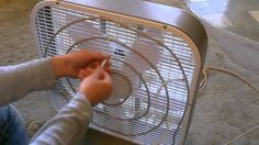 Homemade Evaporative Air Cooler - cools air up to 30F! - only 45 Watts -...