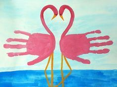 Handprint - Flamingos                                                                                                                                                                                 Mehr