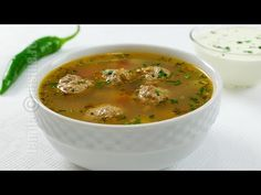 Ciorba de perisoare | JamilaCuisine - YouTube European Dishes, Soup Recipes, Cooking Recipes, Soup Dish, Romanian Food, Romanian Recipes, Good Food, Yummy Food, Seasonal Food