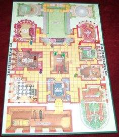 Clue Master Detective | Image | BoardGameGeek Detective, Mystery, Mansion, Boards, Image, Planks, Palace