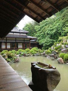 Kyoto - Chishaku-in (智積院). Een Boeddhistische  tempel in Higashiyama-ku.