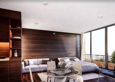 Urban K – Un proyecto de A KORN ARQUITECTOS Korn, Divider, Furniture, Home Decor, Architects, Buildings, Decoration Home, Room Decor, Home Furnishings