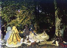 Artify Collections - Le Déjeuner sur l'herbe 1865 By Claude Monet, $115.24 (http://artifycollections.com/le-dejeuner-sur-lherbe-1865-by-claude-monet/)
