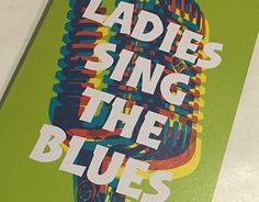 """Check out new work on my @Behance portfolio: """"Ladies Sing the Blues 