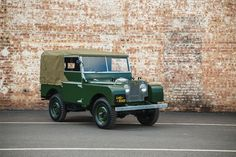 "Land Rover announced the launch of its new Series 1 ""Reborn"" initiative, which will restore and sell 25 original Series 1 Land Rovers."