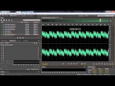 ▶ Adobe Audition CC Tutorial   How Sound Waves Interact - YouTube