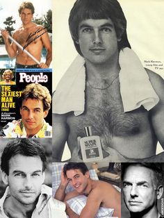 Thomas Mark Harmon (born Sept. 2, 1951) is an American actor. At the University of California he was the starting quarterback for the UCLA Bruins football team in 1972 & 1973. He has appeared in a variety of TV, film & stage roles. His character 'Dr. Robert Caldwell' (1983-86) in the NBC hit series St. Elsewhere was one of the first TV characters to contract HIV/AIDS. In January 1986, he was named People magazine's Sexiest Man Aive. Harmon & his wife are outspoken activists of gun control. Gibbs Ncis, Leroy Jethro Gibbs, La Football Team, Hollywood Stars, Classic Hollywood, Ncis Stars, Ncis Characters, Gibbs Rules, Male Icon