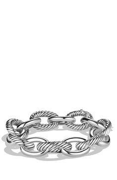David Yurman 'Oval' Extra Large Link Bracelet available at #Nordstrom