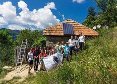 Lumină pentru România, din nou la Ineleț