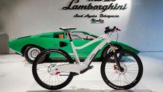 The e-bikes were announced at the Lamborghini museum in Sant'Agata Bolognese