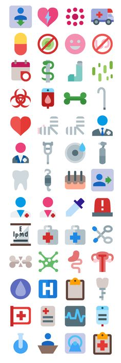 This set contain an enormous amount of icons which allude to medical elements such as medical tools, laboratory, medical specializations, medical staff, treatments, common diseases, etc. The total count goes up to 3592 unique icon shapes (without counting sizes) and they come in 24, 32, 48, 62, 72, 128, 256 and 512 pixels both wide [...]