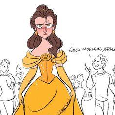 Disney Princesses And Princes, Disney Princess Drawings, Disney Princess Belle, Disney Drawings, Animated Man, Disney Animated Films, Disney Concept Art, Disney Fan Art, Cute Disney