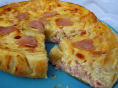 Quiche lorraine Ana Sevilla olla GM Quiches, Quiche Lorraine, Tapas, Savoury Baking, Recipes From Heaven, Food To Make, Good Food, Brunch, Food And Drink