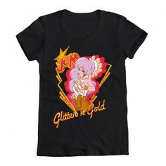 Welovefinetees Jem - Honorable Mention: Glitter 'n' Gold Look $25